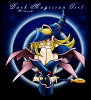 Dark Magician Girl by Hellknight10