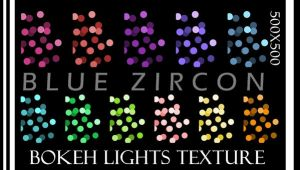 Bokeh Textures by bluezircon-graphics