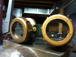 Steampunk Goggles - Complete by CheshireAFox
