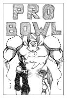 Pro Bowl Cover B+W by dalubnie