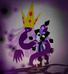The shadow queen's new victim by LuigiFanGirl76