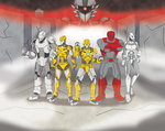 NITRON and the Agents of A.R.M.O.R by nitron100