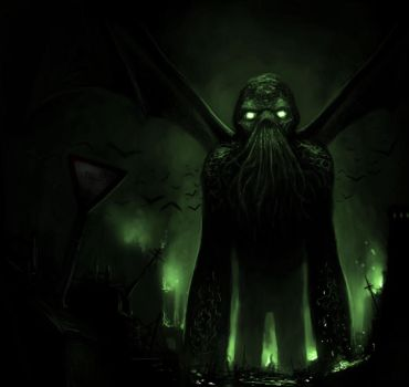 Cthulhu by vnbenedicto