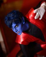 Nightcrawler from X-Men by Diglettcosplay