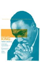 Martin Luther King 08 poster by goodmorningvoice
