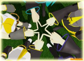 MMD Best friends forever by NeruAkita2011