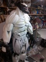 venom costume body suit by mongrelman