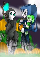 Halloween buddy by camilleartist132
