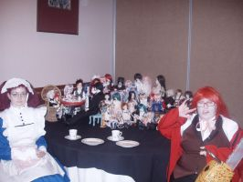a2f 2011 Black Butler Tea Party by KittyChanBB