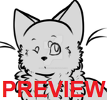P2U - Cat Lines Ref - Help Pixlett Victims! by Batzy-Adopts