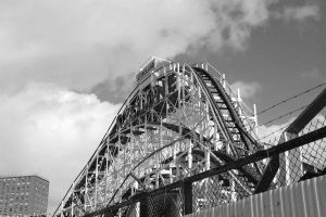 the mighty coney Is Cyclone by jkegler23