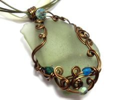 Shadowsea Pendant no. 8 by sojourncuriosities