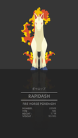Rapidash by WEAPONIX