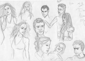 Dead Like Me - Sketches by obiwankatie