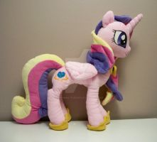Princess Cadance plush by Yukamina-Plushies