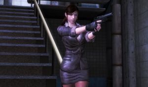 Business Agent Claire Redfield (Re-make) by bstylez