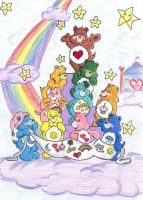 towers of care bears that care by Care-Bear-Club