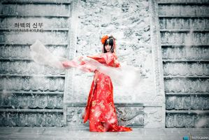 Cosplay : Soah - Bride of The Water God by MaxLy