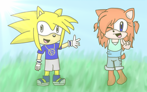 Collab - Emen and Lily as Kids by MarioMario54321