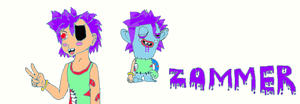 Zommer: Zombie and Human by poppetrocks278
