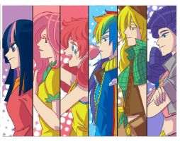 Mane 6 real life by MyLittlePonyLover5