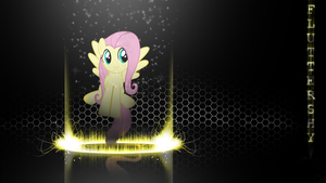 Fluttershy Wallpaper #2 by forgotten5p1rit