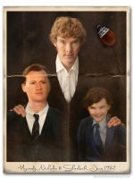 Rebellion of Angels-Holmes family photo (for sky) by SherlocksScarf
