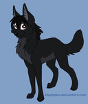 Me as a wolf -updated- by Chidori1334