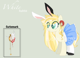 White Rabbit .:OC:. by LuckyJokerz