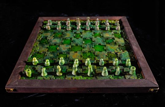 Ancient Puzzle Chess Set by Goomba-2007