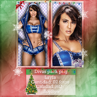 Divas Pack Png - Layla by KellyKellyBoy