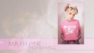 Sarah Jane Honeywell Wallpaper 2 by TimelineAndWallpaper