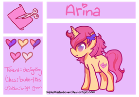 Arina {reference} by Rockabell-Neko