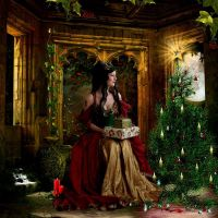 Christmas Blessings by Devi-J