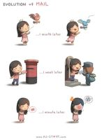 142. Evolution Of Mail by hjstory