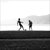 My mum can play football by Andre99