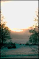 winter sunset 2 by TheHer3tic