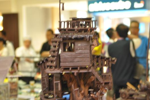 CHOCOLATE TREE HOUSE by jackosan