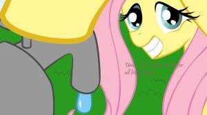 Fluttershys lesson by COBilly