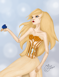 The goldencage, the silvermermaid and the bluebird by Elissagd