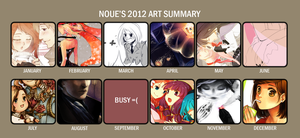 2012 Art Summary by nou-e