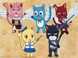 Team Natsu version exceed by Valeorie