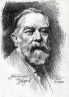 THE VIRTUOSO  JOHN SINGER SARGENT by AbdonJRomero