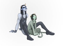 homestuck: broirails by LizCoshizzle