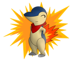 Contest Prize- Cyndaquil by KurtisTheSnivy