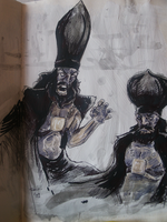 Annas and caiaphas by robiant