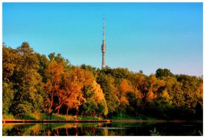 Ostankino Tower by silverwing-sparrow