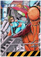 Mission Over (my version of Samus) by EmersonOvens
