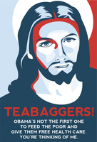 Teabaggers! by poasterchild