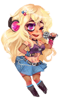 Mini Songstress by CrypticInk